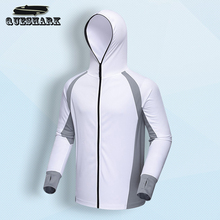Outdoor Sports Men's Fishing Jacket Hiking Hoodies Clothing Quick Dry Anti-UV Sunscreen Breathable Angling Clothes