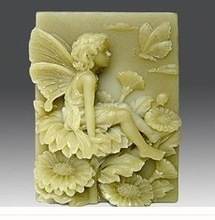 Butterfly Fairy  Craft Art Silicone Soap mold Craft Molds DIY Handmade soap molds