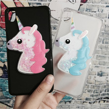 Buy 3D Unicorn Quicksand Liquid Soft Silicone Case Lenovo S850 S850t Phone Cover Cartoon Diamond Funda Coque Fashion Owl Capa for $3.46 in AliExpress store