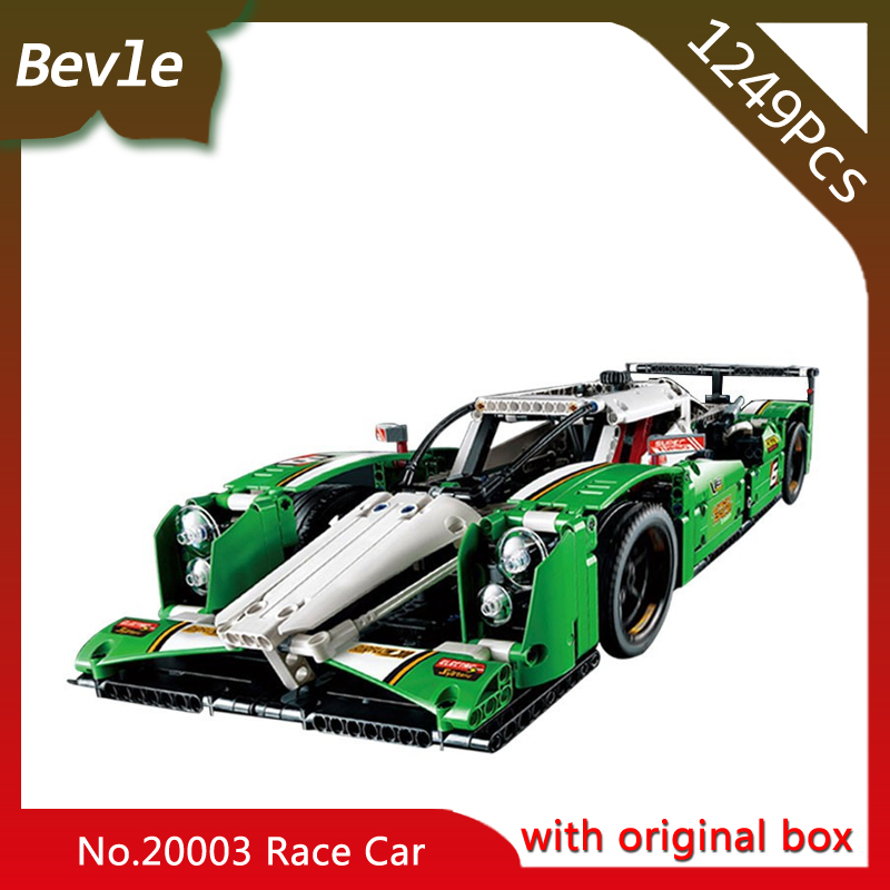 Bevle Store LEPIN 20003 1249Pcs With Original Box Technic Series 24 Hours Race Car Model Building Blocks Bricks 42039 Child Gift<br>