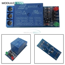 2PCS 5V low level trigger One 1 Channel Relay Module interface Board Shield For Arduino PIC AVR DSP ARM MCU DC AC 220V