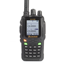 Wouxun KG-UV8D Two-Way Radio 136-174/420-520MHz Dual Band Transceiver 999 Memory Channels Ham Walkie Talkie UV8DV1.03