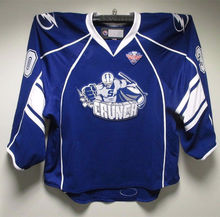 #30 Connor Ingram Syracuse Crunch Hockey Jersey Blue Embroidery Stitched Custom any Number and name Jerseys(China)