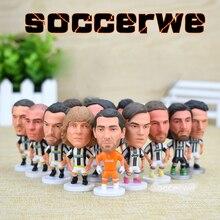 Juventus [12PCS + Display Box] Soccer Player Star Figurine 2.5