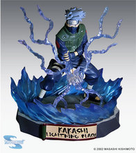 SAINTGI Japanese Toynami Anime Action Figure Naruto Shippuden Hatake Kakashi Running Tsume Xtra Ver. PVC Model Toy 19cm(China)