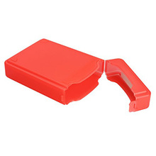 3.5Inch For Hard Drive IDE SATA Full Case Protector Storage Box Plastic (Red)
