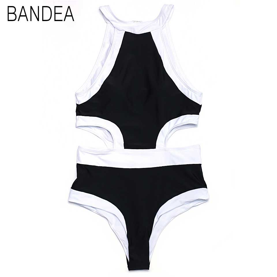 BANDEA Hot sale Swimsuit Women Swimwear Female Retro Plus Size Swimwear 2017 Vintage Large Bathing Suit Swim Beachwear solid<br><br>Aliexpress