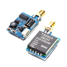 MINIFRTU Mini TS5823 48CH Wireless Transmitter 5.8G 600mW Audio video AV sender for FPV(China)