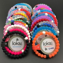 10pcs/lot ePacket free shipping fashion lokai bracelets 47 colors in stocks neon shark for christmas gifts(China)