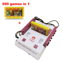 Subor D99 Nostalgic Original Video Games Console Player with 500 Games Card TV Game Player w/ Original Retail Box