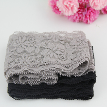 5.5cm high tenacity hollow lace trim flower embroidered Net Lace Fabric for Sewing clothing 10 yards