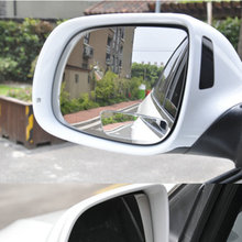 1Pair Auto Side 360 Wide Angle Convex Mirror Car Vehicle Blind Spot Dead Zone Mirror RearView Mirror Small Mirror(China)