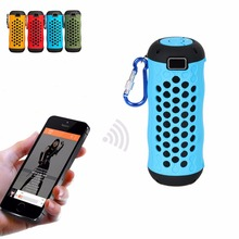 Wireless Outdoor Sports Riding Bluetooth Speaker Waterproof Handsfree Portable Sound bar for Bike Cycling for iPhone Android(China)