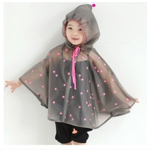 Top Quality100% Original Twinkle Star RainWear Kids Cartoon Fashion Design Waterproof Unisex Raincoat Smart Children Rain Cape