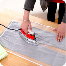 creative ironing boards protective Japanese high-temperature ironing cloth Household ironing the hot pressing placemat(China)