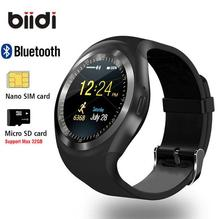 "Buy 1.54"" Bluetooth Smart Watch Android IOS 2G smart phone watch Support TF/SIM card fitness watch Pedometer Message push smartwatch for $12.95 in AliExpress store"