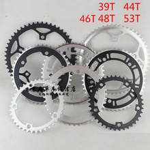 39T 44T 46T 48T 53T MTB Mountain Bikes Road Bicycle Crank Crankset Disc Chain Wheel Tooth Slice Repair Parts