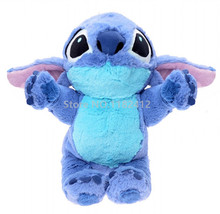 Lilo and Stitch Toy Cute Stitch Plush Doll 35cm 14'' Super Soft Baby Kids Toys for Children Christmas Gifts(China)