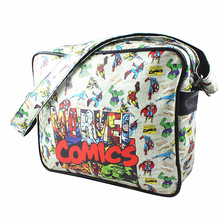 MARVEL Comics Collection Bag Captain America Spider Man/Iron Man/ Thor/Star Wars/Superman/flash/Simpson PU Leather Shoulder Bags