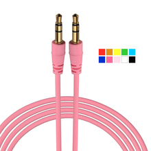 Aux Cable 3.5 mm Jack Male to Male Stereo Audio Cables Mobile Phone Cables For iPhone iPod iPad Mp3 Mp4 Headphone Car AXC258