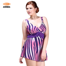 Buy New Sexy One Piece Swimsuit Vintage Plus Size Swimwear Women Colorful Pattern Stripy Beach Bodysuit Triangle Halter Bathing Suit
