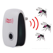 Ultrasonic electronic mosquito repeller, killing mosquito repellent, free shipping(China)