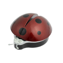 New Dark Red Plastic Car Air Vent Ladybug Design Fragrance Purifier Freshner
