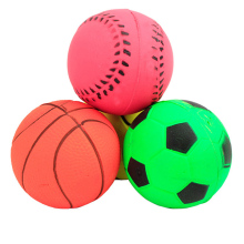 Lovely Durable Basketball/soccer Etc Shape Solid Small Bouncy Ball Dog Training Chewing Playing Pet Toys XP0511