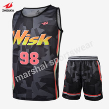high quality make a jersey basketball cheap sublimation basketball jerseys where can i buy OEM basketball jerseys(China)