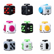 EDC Squeeze Fun Stress Reliever Fidget Cube Relieves Anxiety and Stress Toys Fidget Cube