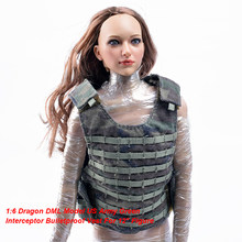 "1:6 Dragon DML Model US Military Camouflage Army Green Interceptor Bulletproof Vest For 12"" Action Figure Doll Toys(China)"