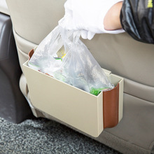 Car-Styling Seat Storage Bag Plastic Hanging Bags Car Seat Back Bag Car Product Multifunction Foldable Vehicle Car Storage Box