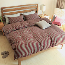New Home Textile 4PCS Bedding Sets 100% Cotton Bed Sets 2pcs Pillow Cases + 1pcs Duvet Cover + 1 pcs Bedspread Comforter Cover
