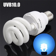 Newest UVB5.0/UVB10.0 13W Compact Light Fluorescent Desert Terrarium Reptile Lamp Bulb 110-240V(China)