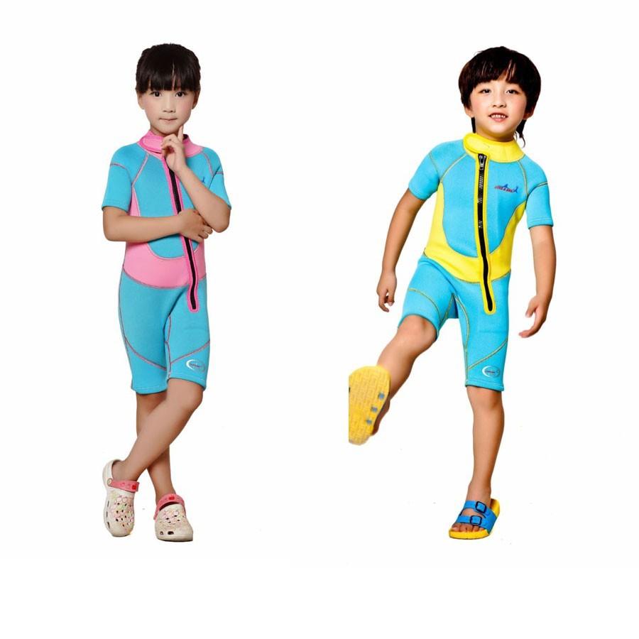 WDS-8002-13-Children-Wetsuit-2.5mm-Neoprene-Thick-Swimsuit-for-Winter-Autumn-Spring-Shorty-Swimwear