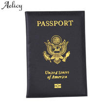 Buy Aelicy 2018 Fashion Men Women Travel Artificial Leather Passport Holder Card Case Protector Cover Wallet Bags Passport Cover for $1.38 in AliExpress store