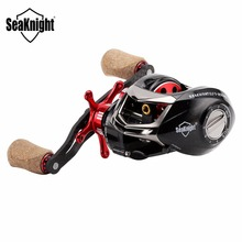 SeaKnight ELF II 6.4:1/7.2:1 C45 Carbon Fiber Baitcasting Fishing Reel 13+1BB 7.5KG Dual Brake System Bait Casting Fishing Wheel(China)
