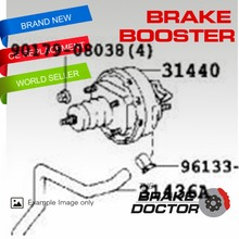 CLUTCH BOOSTER FOR TOYOTA COASTER 199301- BD-540(China)
