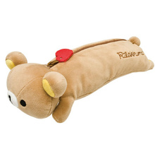 Kawaii 22CM Approx. Rilakkuma Bear Body Stuffed Plush Toy For Pencil BAG , Bear Plush Toy AS Coin BAG Purse Plush Doll