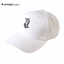 Embroidery Drake 6 God Pray Cap Women Men Baseball Caps Brand Design 2017 New Snapback Caps Black White Hats Casquette LKP05