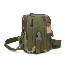 Molle Waist Bag Tactical Utility Gadget Pouch Smart Phone Bag Pouch  Men Casual Waist Pack Nylon Army Military Small Bags