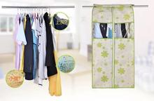 6 type three dimensional widen clothes dust cover storage bag home incorporat closet organizer suits coat dustproof protector(China)