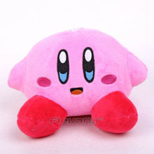 Anime Cartoon Kirby Plush Toys Soft Stuffed Animal Dolls Kids Toys 2 Types(China)