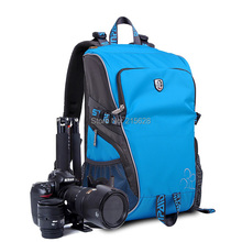 Buy Professional DSLR camera Backpack Travel digital slr photo video bag/case waterproof Canon 50D 60D 7D Nikon D1 sony/pentax for $43.50 in AliExpress store