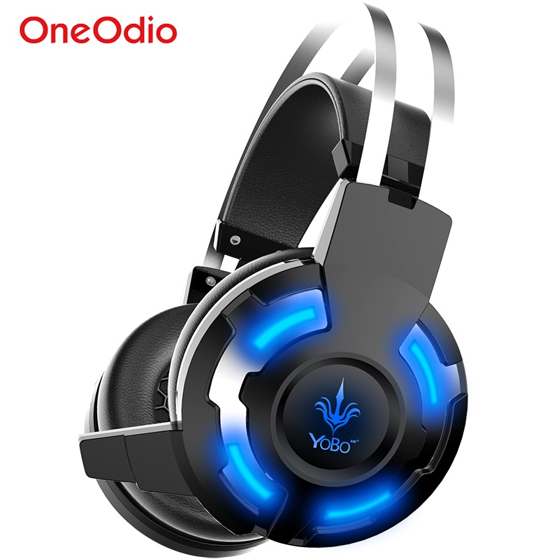 Led Game Headset USB Wired Gaming Headphone For PC Computer Video Game PS4 Xbox 1 Game Headset with Microphone Headphones Gaming<br><br>Aliexpress