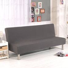 Stretch Sofa Cover Elastic Couch Cover No Hand Sofa Slipcovers Cheap Sofa Bed Covers For Livingroom Gray V20