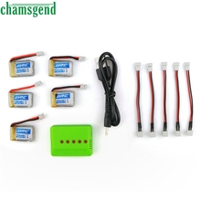 CHAMSGEND Battery Best seller High quality 3.7V 0mAh Li-Polymer Battery +A Five Charger For JJRC H36 RC Quadcopter  S30