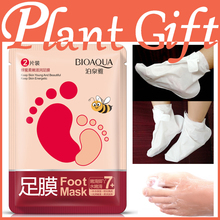 5pcs honey soft moisturizing foot film moisture replenishment moisture fade fine lines to the tender feet foot care