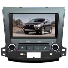 NAVITOPIA Wince 6.0 Car Multimedia Player For Mitsubishi Outlander 2007 2008 2009 2010 2011 2012 2013 Car DVD Video GPS