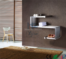 Stainless steel towel warmer electric drying Heated Towel Rack holder chrome Heating Radiator shelf for clothes HZ-911